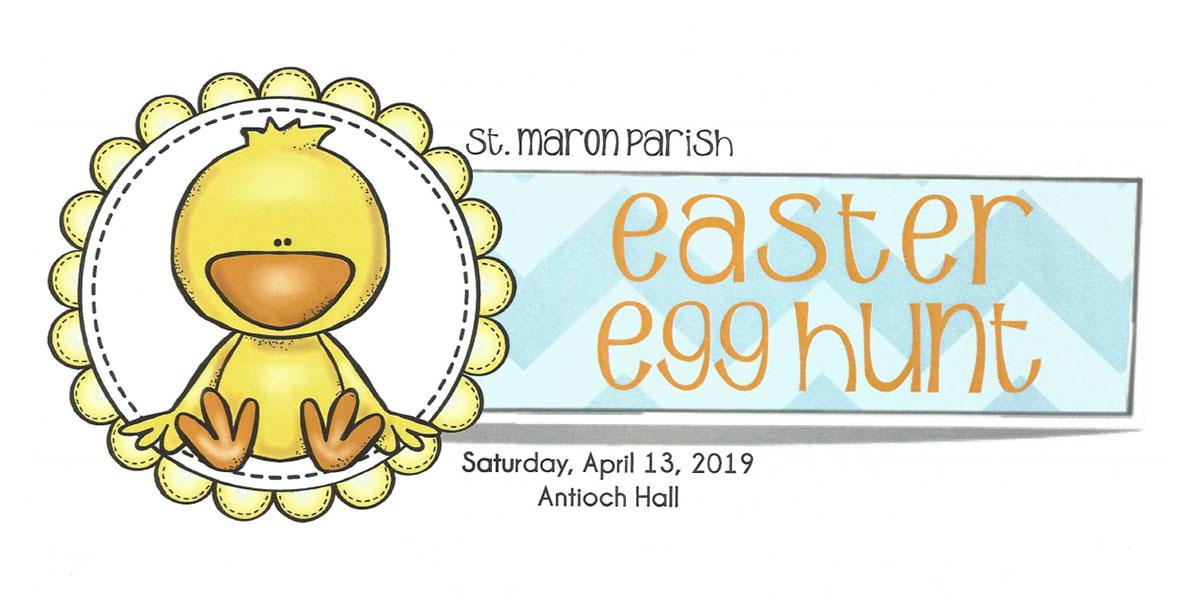Saint Maron Parish Easter Egg Hunt